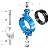 butterfly clip valve