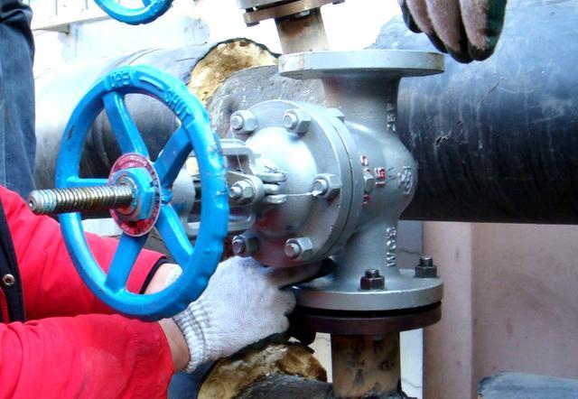 open valve